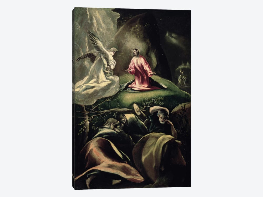 The Agony In The Garden (Museum Of Fine Arts - Budapest) by El Greco 1-piece Canvas Art