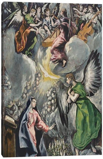 The Annunciation (Museo del Prado) Canvas Art Print