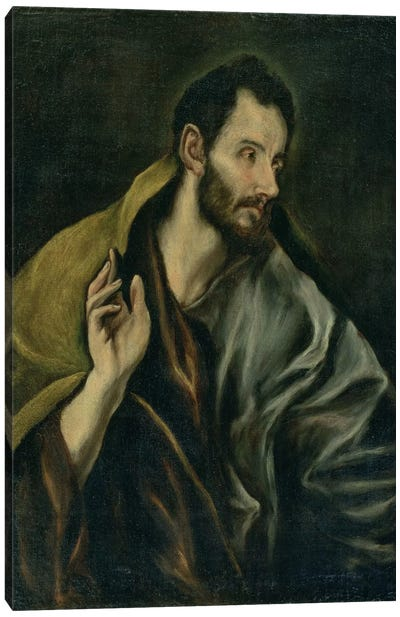 The Apostle Thomas Canvas Art Print