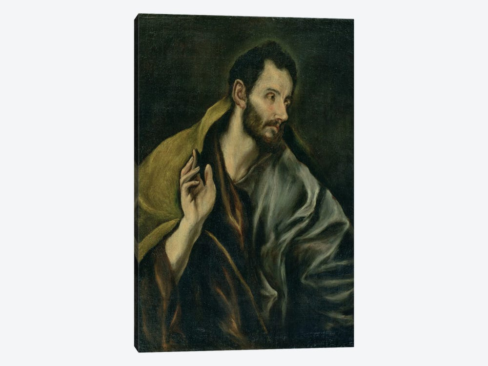The Apostle Thomas by El Greco 1-piece Canvas Artwork