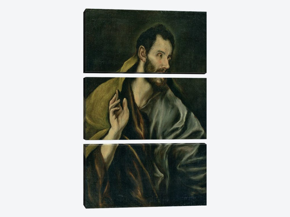 The Apostle Thomas 3-piece Canvas Artwork