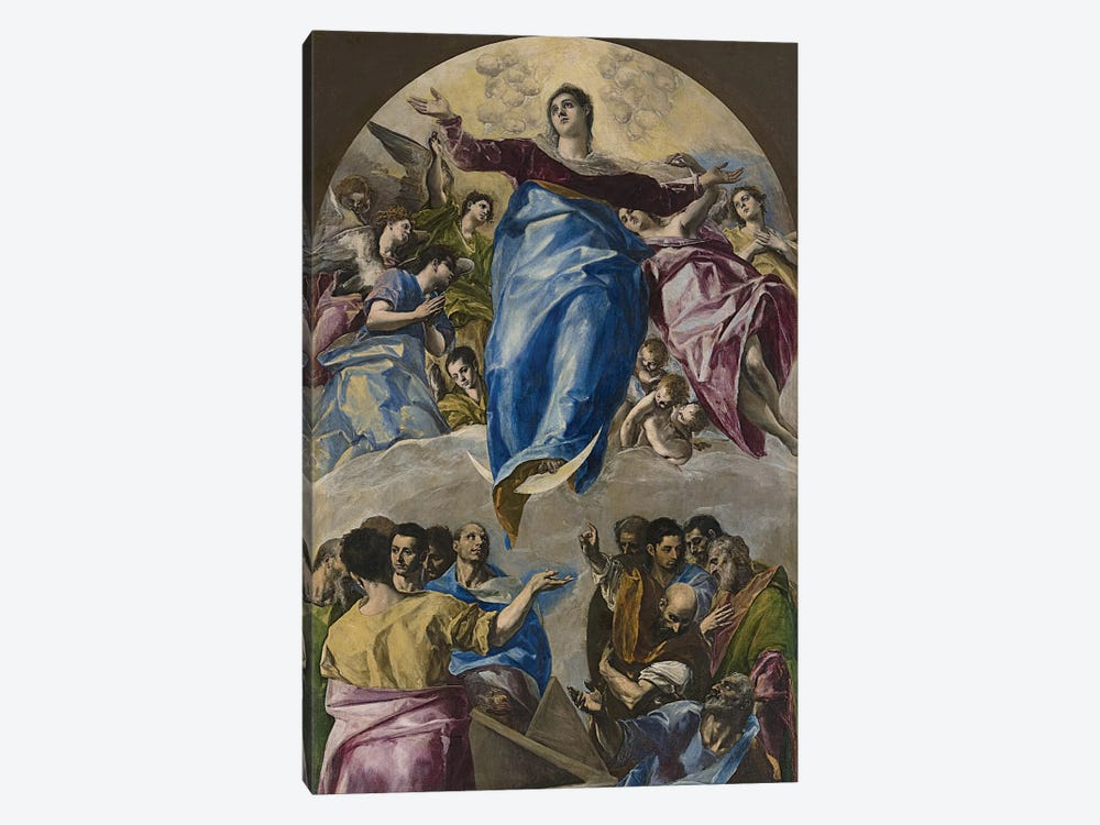 The Assumption Of The Virgin, 1577-79 (Art Institute Of Chicago) by El Greco 1-piece Art Print