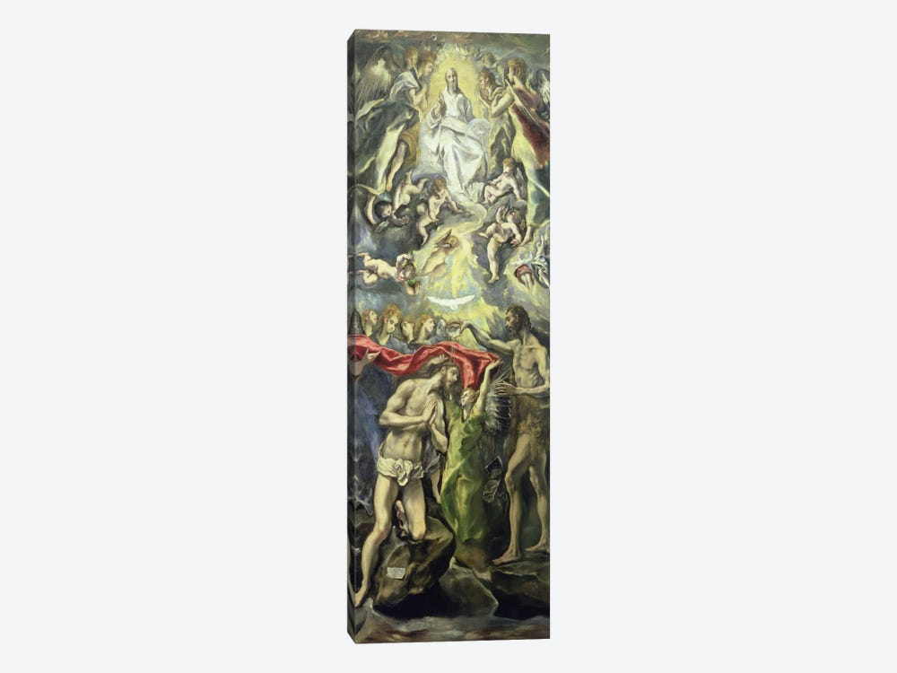 The Baptism Of Christ, c.1597 (Museo del Prado) by El Greco 1-piece Art Print