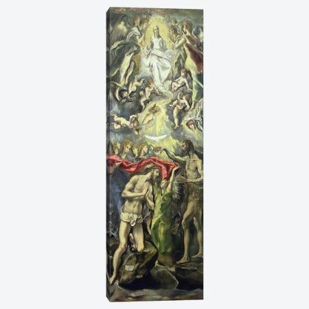 The Baptism Of Christ, c.1597 (Museo del Prado) Canvas Print #BMN6232} by El Greco Canvas Art