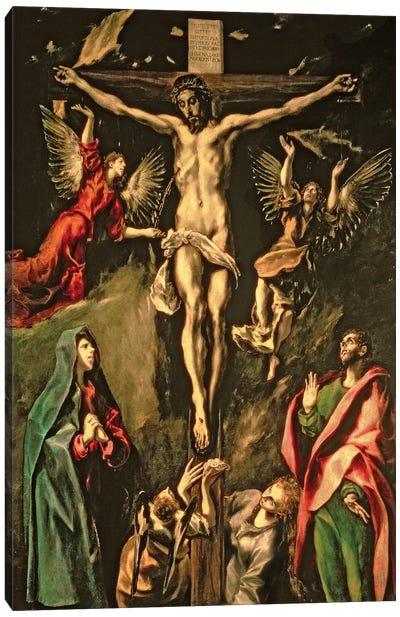 The Crucifixion, c.1584-1600 (Museo del Prado) Canvas Art Print