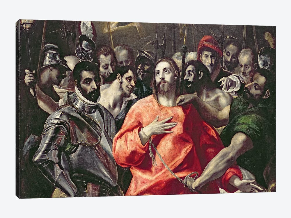 The Disrobing Of Christ (National Museum Wales) by El Greco 1-piece Canvas Art