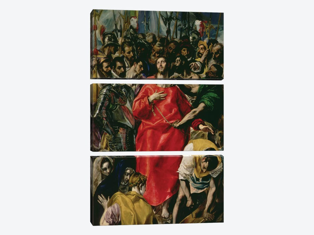 The Disrobing Of Christ, 1577-79 (Toledo Cathedral) by El Greco 3-piece Art Print