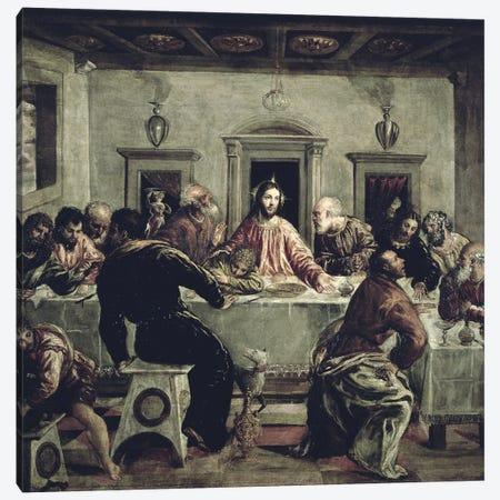 The Last Supper Canvas Print #BMN6252} by El Greco Canvas Artwork