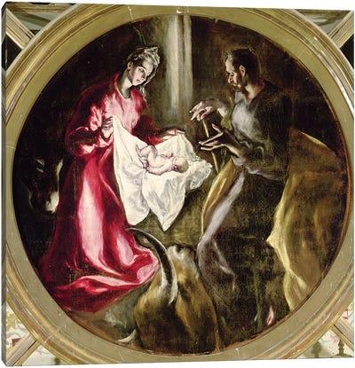 The Nativity, 1597-1603 Canvas Art Print