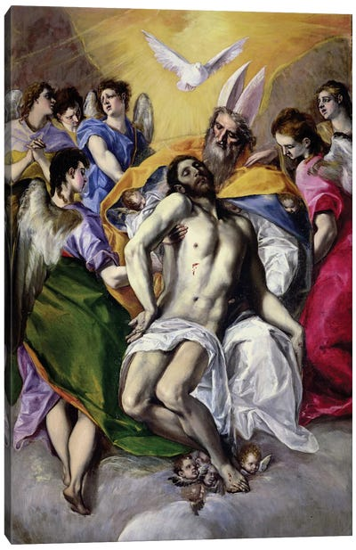 The Trinity, 1577-79 Canvas Art Print