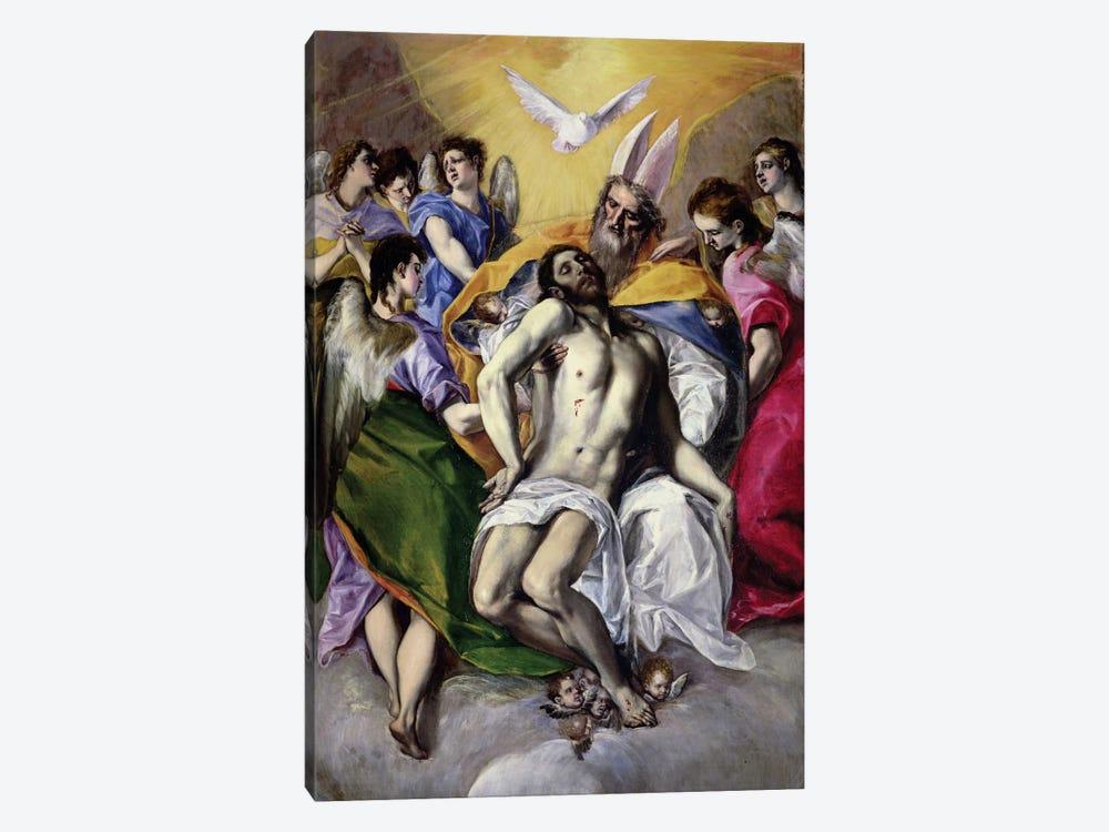 The Trinity, 1577-79 by El Greco 1-piece Art Print