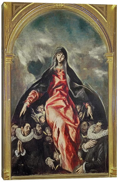 The Virgin Of Charity, 1603-05 Canvas Print #BMN6265