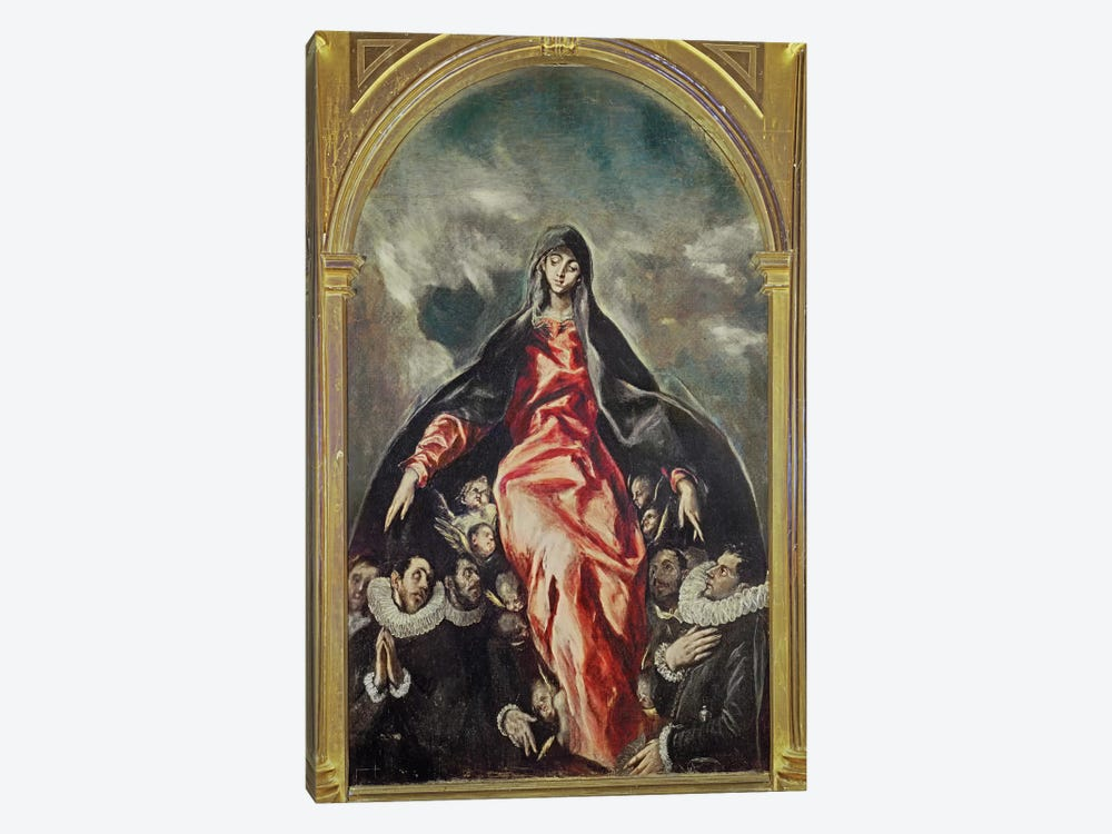 The Virgin Of Charity, 1603-05 by El Greco 1-piece Canvas Print