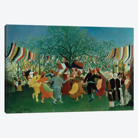 A Centennial Of Independence, 1892 Canvas Print #BMN6273} by Henri Rousseau Canvas Wall Art