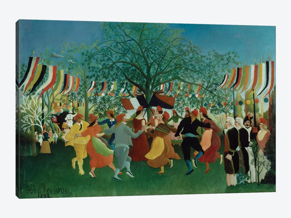 A Centennial Of Independence, 1892 by Henri Rousseau 1-piece Canvas Wall Art