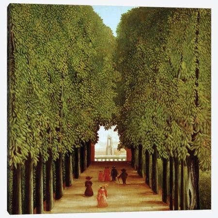 Alleyway In The Park Of Saint-Cloud, 1908 Canvas Print #BMN6275} by Henri Rousseau Art Print