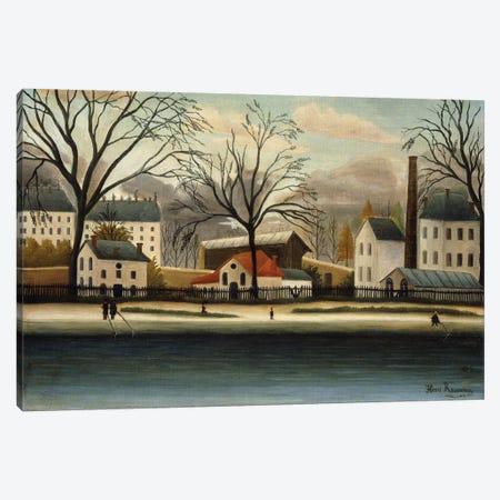 Banlieue (Suburbs), c.1896 Canvas Print #BMN6276} by Henri Rousseau Canvas Print