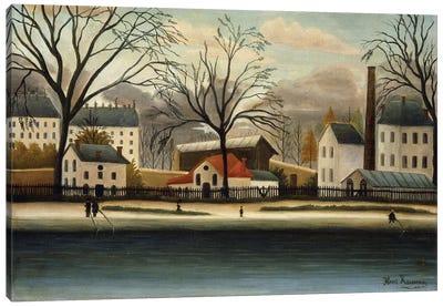 Banlieue (Suburbs), c.1896 Canvas Art Print
