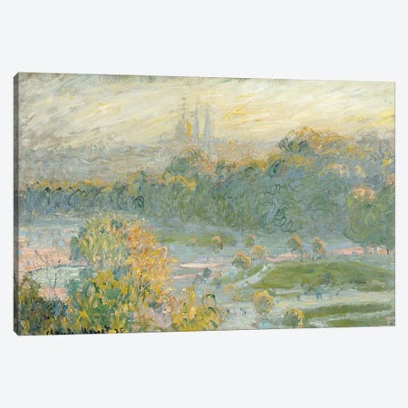 The Tuileries  Canvas Print #BMN627} by Claude Monet Canvas Print