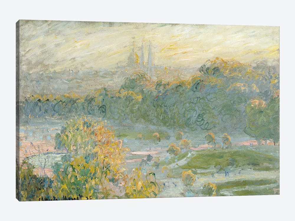 The Tuileries  by Claude Monet 1-piece Canvas Wall Art