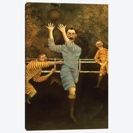 Detail Of Receiver, The Football Players, 1908 Canvas Print #BMN6282} by Henri Rousseau Art Print