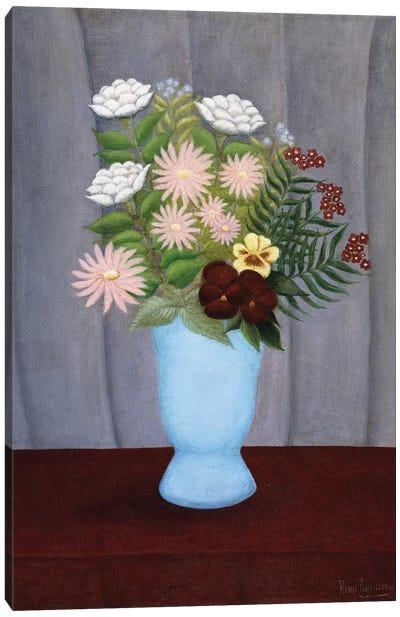 Fleurs de Jardin (Garden Flowers), c.1909-10 Canvas Art Print