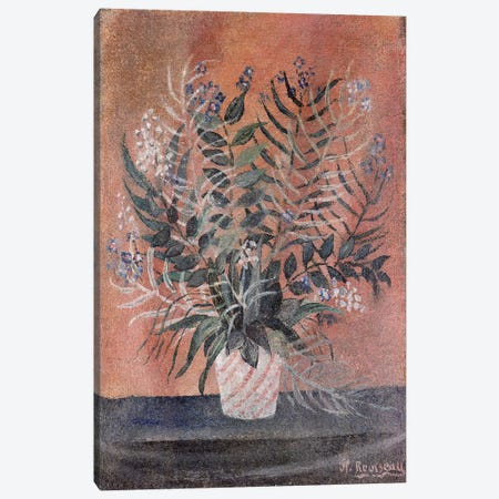 Flowers, c.1903 Canvas Print #BMN6286} by Henri Rousseau Canvas Art