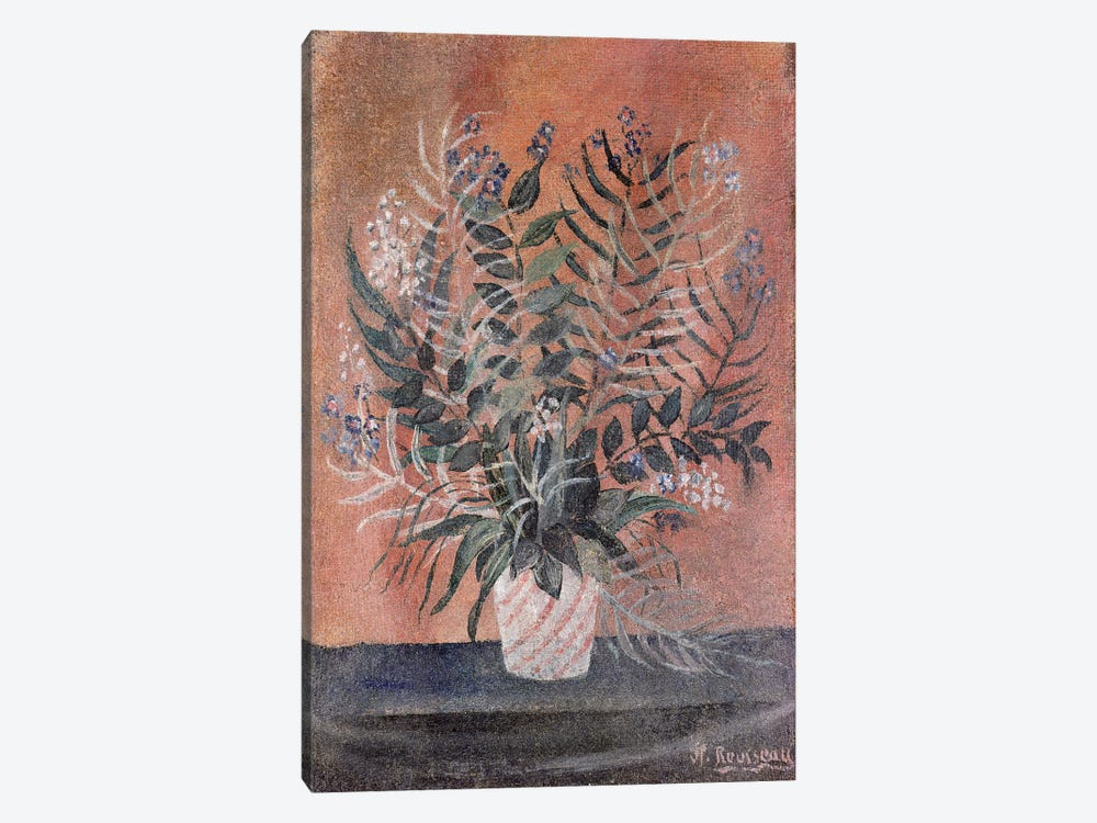 Flowers, c.1903 by Henri Rousseau 1-piece Canvas Artwork