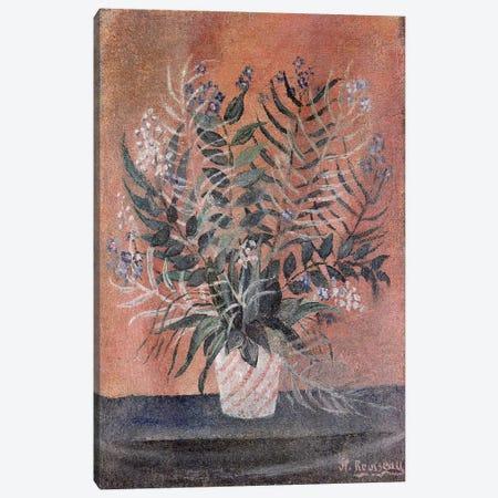 Flowers, c.1903 Canvas Print #BMN6286} by Henri Rousseau Canvas Art