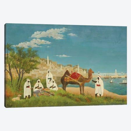 Landscape, Algiers, 1880 Canvas Print #BMN6293} by Henri Rousseau Canvas Wall Art