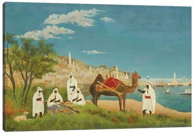 Landscape, Algiers, 1880 Canvas Art Print