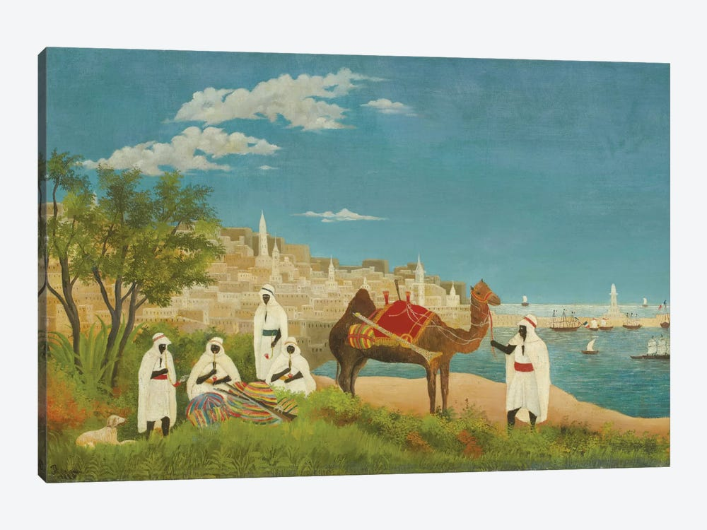 Landscape, Algiers, 1880 by Henri Rousseau 1-piece Canvas Art