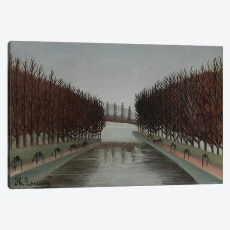 Le Canal, c.1905 Canvas Print #BMN6294} by Henri Rousseau Canvas Art Print