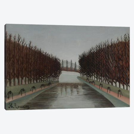 Le Canal, c.1905 Canvas Print #BMN6294} by Henri Rousseau Canvas Art Print