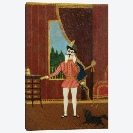 Le Petit Chevalier (Don Juan), c.1880 Canvas Print #BMN6295} by Henri Rousseau Canvas Print