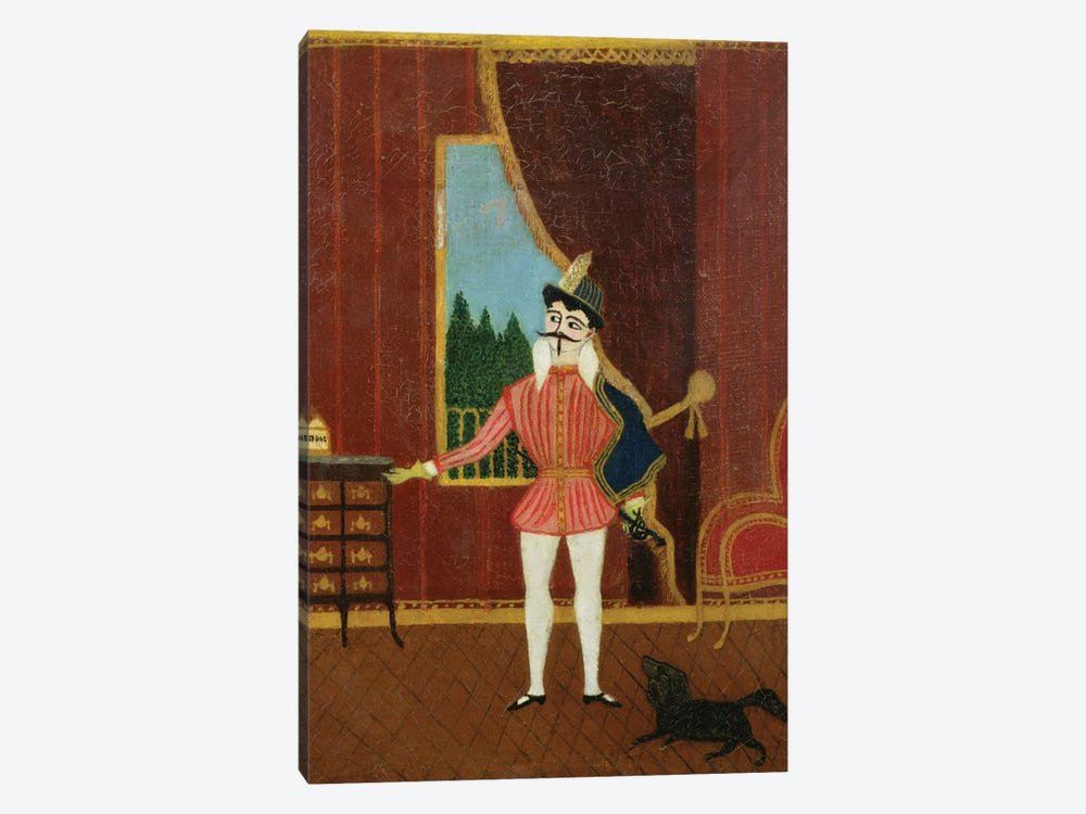 Le Petit Chevalier (Don Juan), c.1880 by Henri Rousseau 1-piece Canvas Artwork