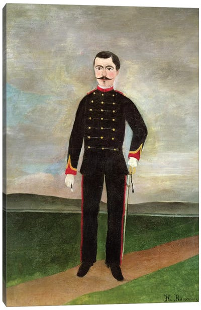 Marshal des Logis Frumence-Biche Of The 35th Artillery, c.1893 Canvas Art Print