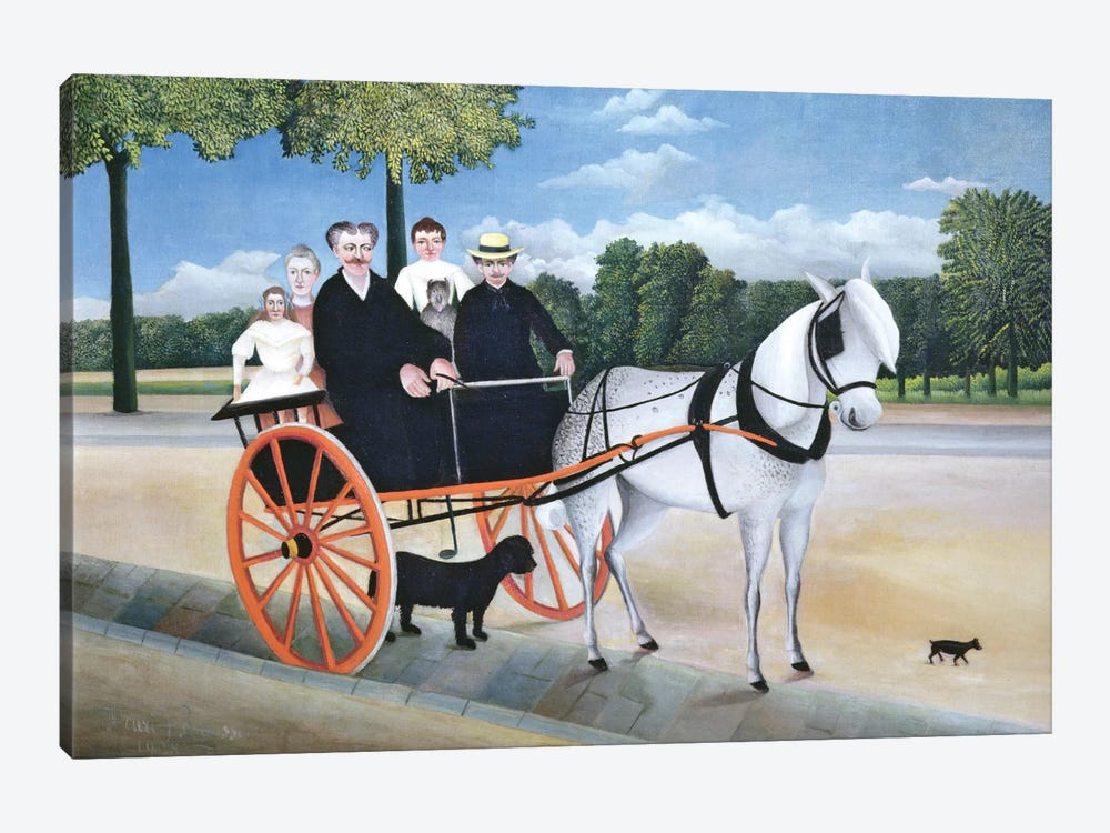 Old Man Junier's Trap, 1908 by Henri Rousseau 1-piece Canvas Wall Art