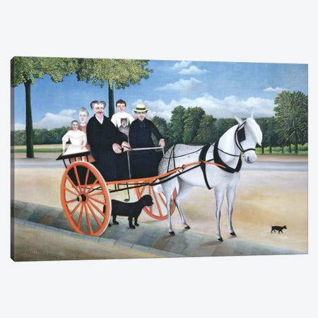 Old Man Junier's Trap, 1908 Canvas Print #BMN6299} by Henri Rousseau Canvas Wall Art