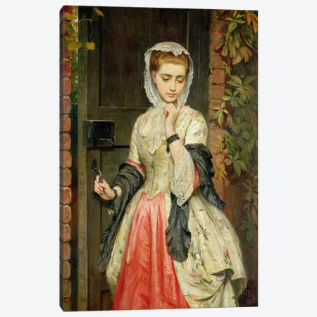 Rejected Addresses, 1876 Canvas Print #BMN629} by Charles Sillem Lidderdale Canvas Wall Art