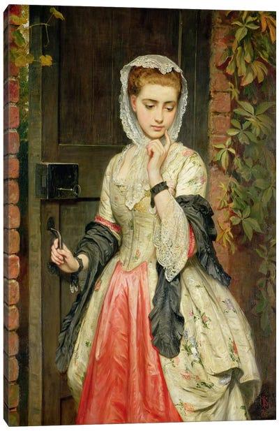 Rejected Addresses, 1876 Canvas Art Print