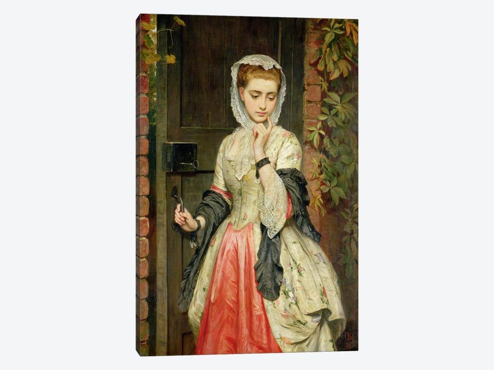 Rejected Addresses, 1876 by Charles Sillem Lidderdale 1-piece Canvas Artwork