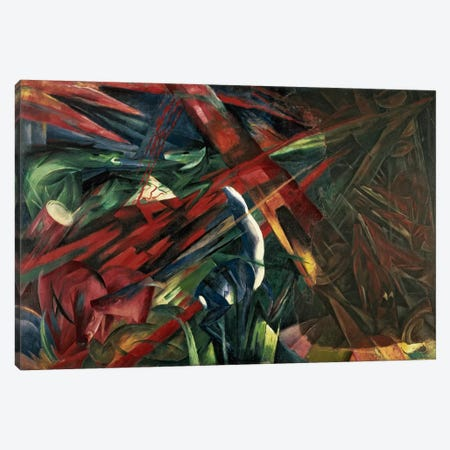 Fate of the Animals, 1913 Canvas Print #BMN62} by Franz Marc Canvas Art