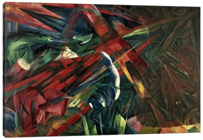 Fate of the Animals, 1913 Canvas Print #BMN62