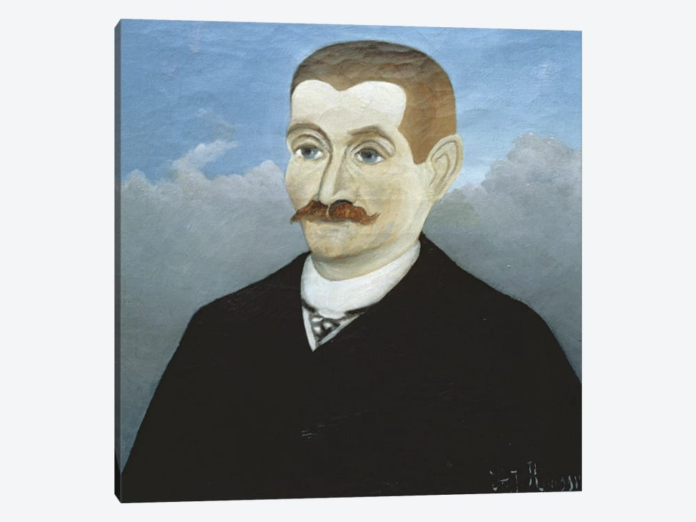 Portrait Of A Red-Haired Man by Henri Rousseau 1-piece Canvas Art