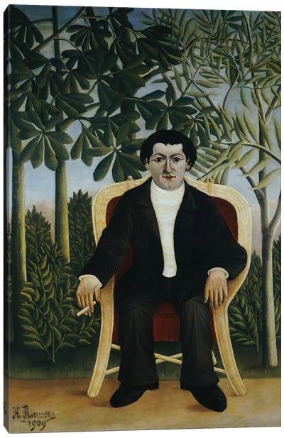 Portrait Of Joseph Brummer, 1909 Canvas Art Print