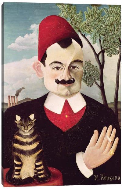 Portrait Of Pierre Loti, c.1891 Canvas Art Print