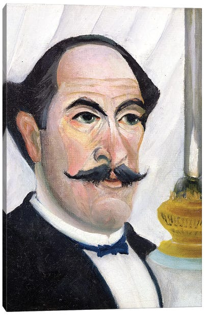 Self Portrait, c.1900-03 Canvas Art Print