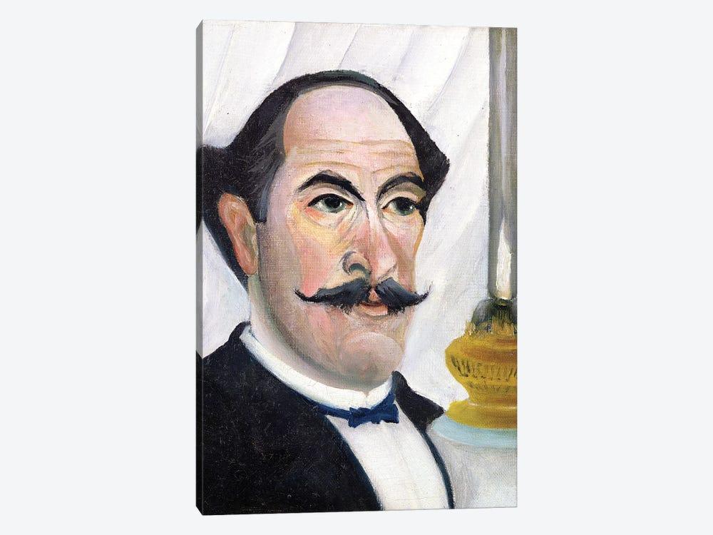 Self Portrait, c.1900-03 by Henri Rousseau 1-piece Canvas Artwork