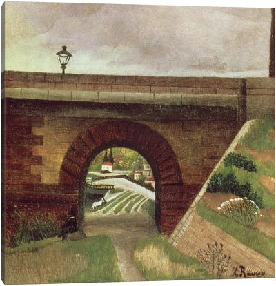 Sevres Bridge Canvas Print #BMN6312